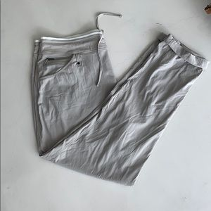 Lole light gray pants